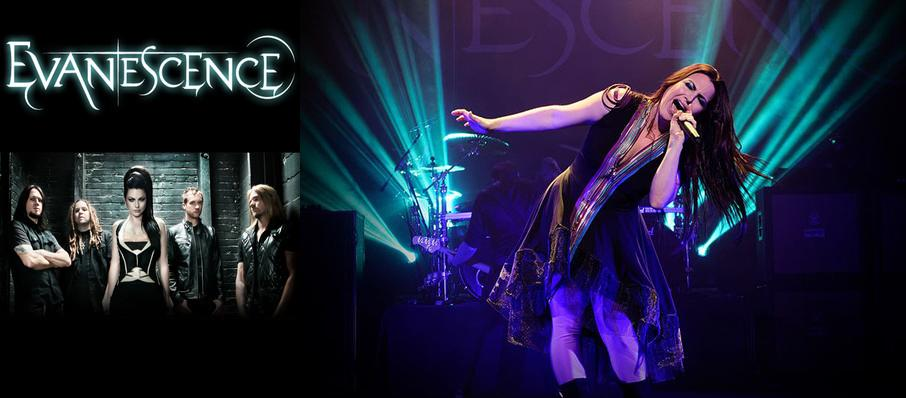 Evanescence at Bold Sphere at Champions Square