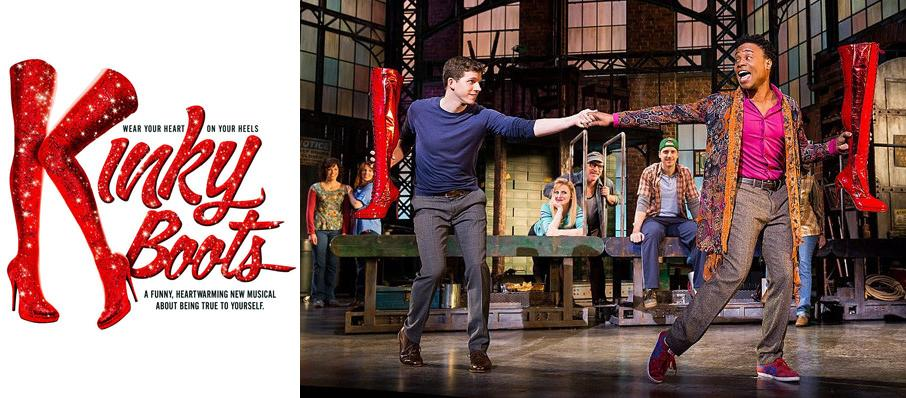 Kinky Boots at Saenger Theatre