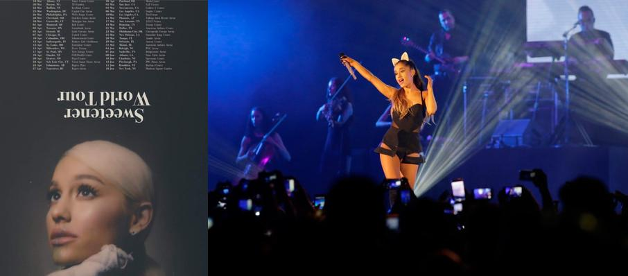 Ariana Grande at Smoothie King Center