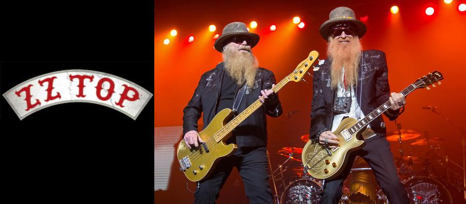 ZZ Top at Saenger Theatre