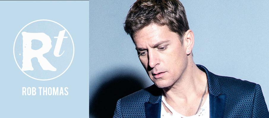 Rob Thomas at Saenger Theatre