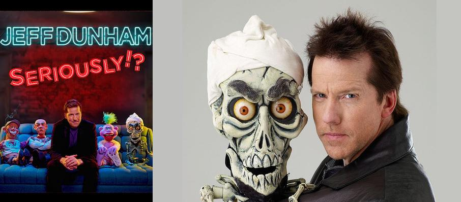 Jeff Dunham at Smoothie King Center