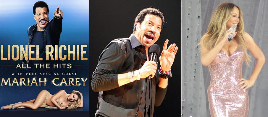 Lionel Richie with Mariah Carey at Smoothie King Center