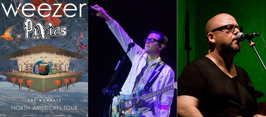 Weezer and Pixies at Bold Sphere at Champions Square