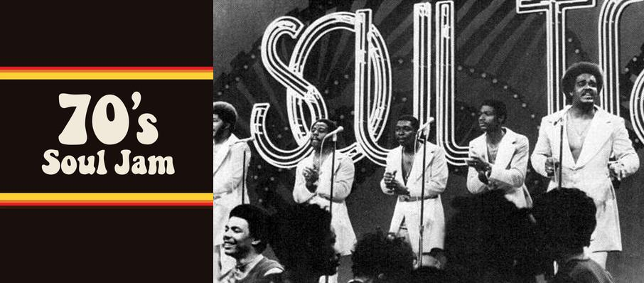 70s Soul Jam at Saenger Theatre
