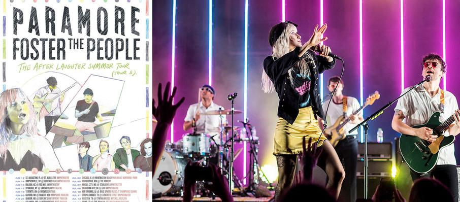 Paramore with Foster The People at Bold Sphere at Champions Square
