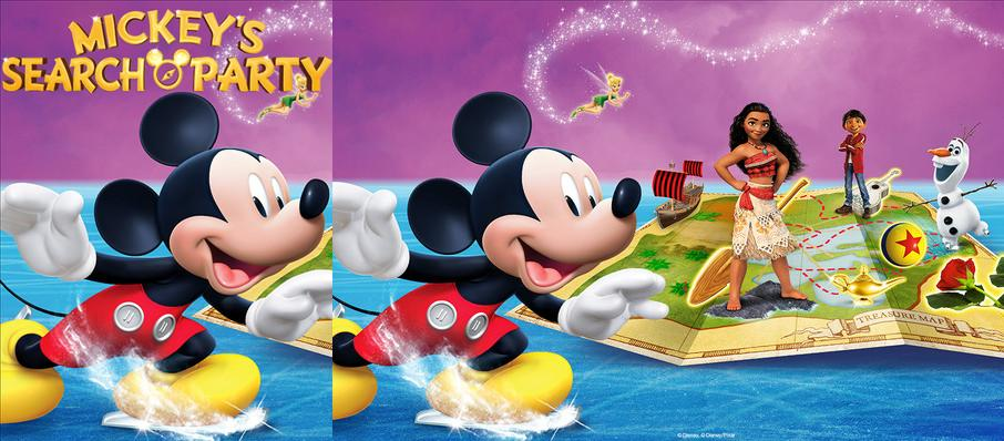 Disney on Ice: Mickey's Search Party at Uno Lakefront Arena
