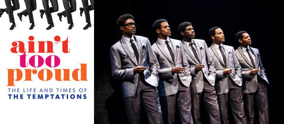 Ain't Too Proud - The Life and Times of the Temptations at Saenger Theatre