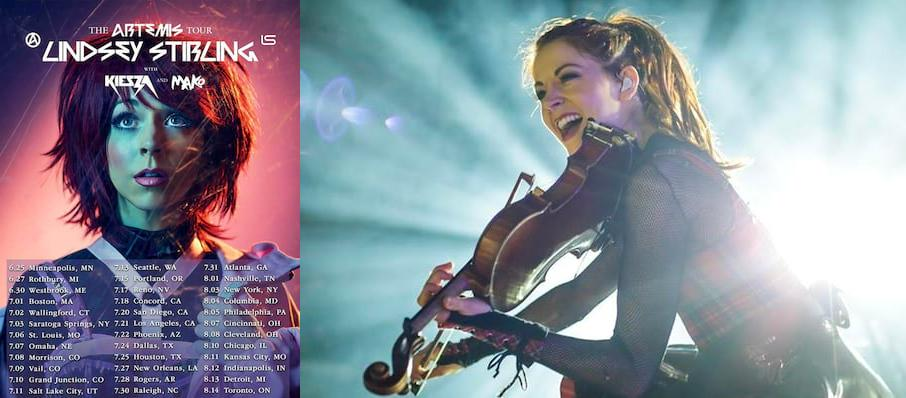 Lindsey Stirling at Saenger Theatre