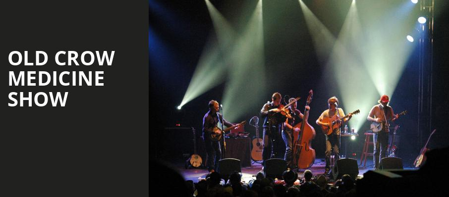 Old Crow Medicine Show, Orpheum Theater, New Orleans