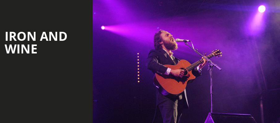 Iron and Wine, The Joy Theater, New Orleans