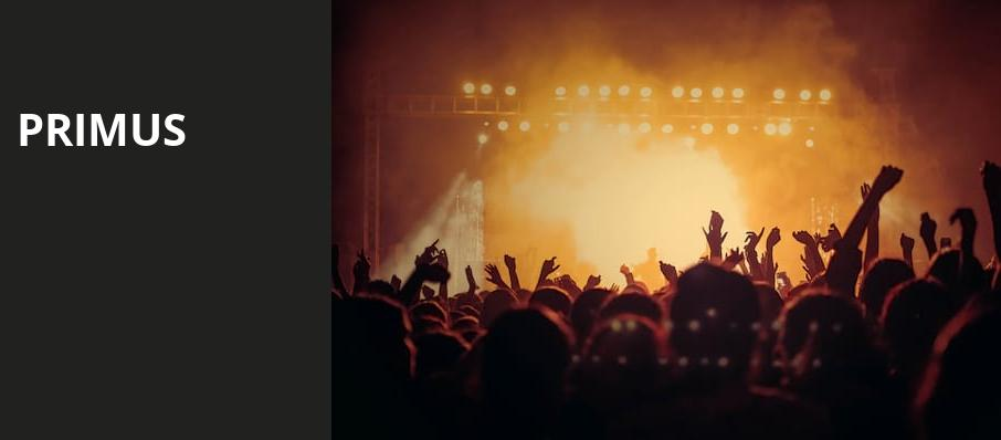 Primus, The Civic Theatre, New Orleans