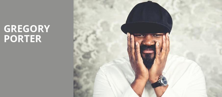 Gregory Porter, Orpheum Theater, New Orleans