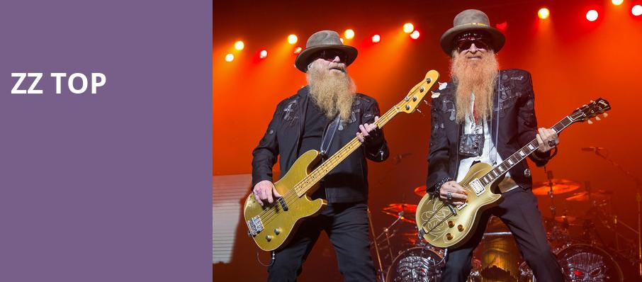 ZZ Top, Saenger Theatre, New Orleans