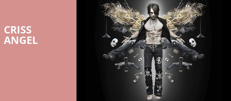 Criss Angel, Saenger Theatre, New Orleans