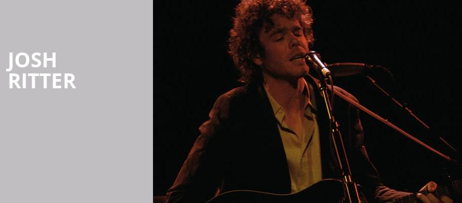Josh Ritter, The Civic Theatre, New Orleans