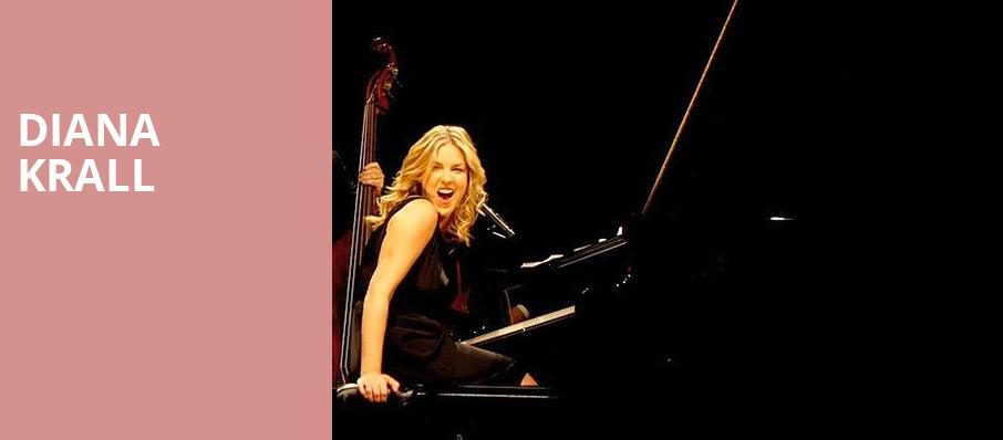 Diana Krall, Saenger Theatre, New Orleans