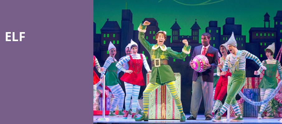 elf saenger theatre new orleans - Christmas Broadway Shows