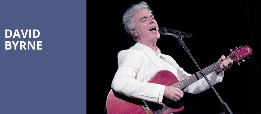David Byrne, Saenger Theatre, New Orleans