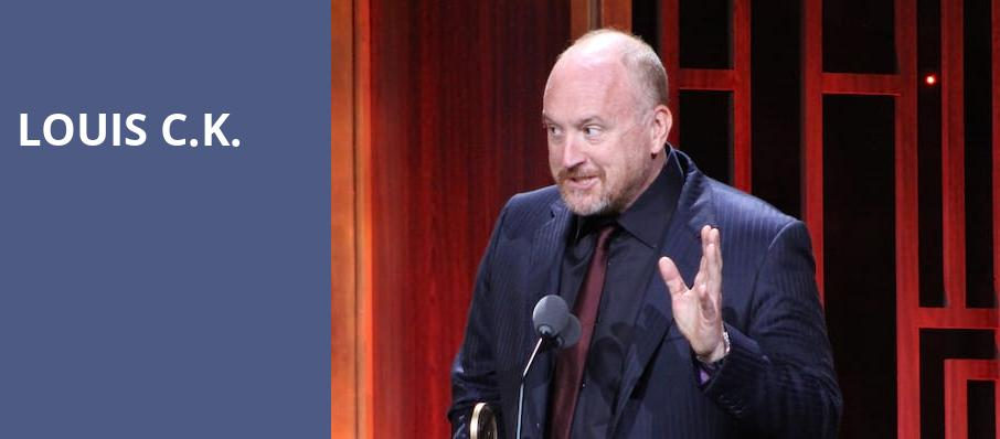 Louis CK, Orpheum Theater, New Orleans