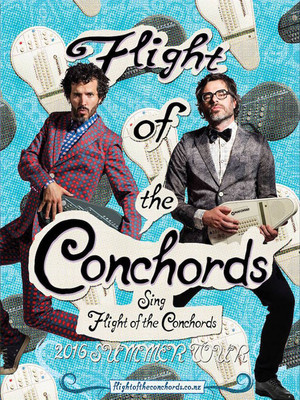 Flight of the Conchords, Saenger Theatre, New Orleans
