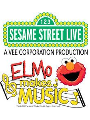 Sesame Street Live Elmo Makes Music, Uno Lakefront Arena, New Orleans