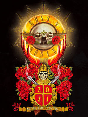 Guns N Roses, Mercedes Benz Superdome, New Orleans