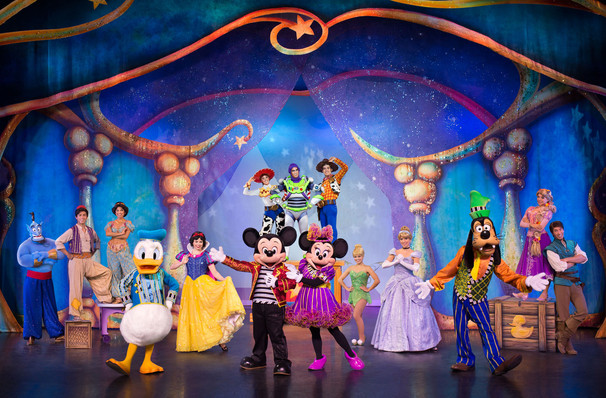 Disney Live! Mickey and Minnie's Doorway to Magic dates for your diary